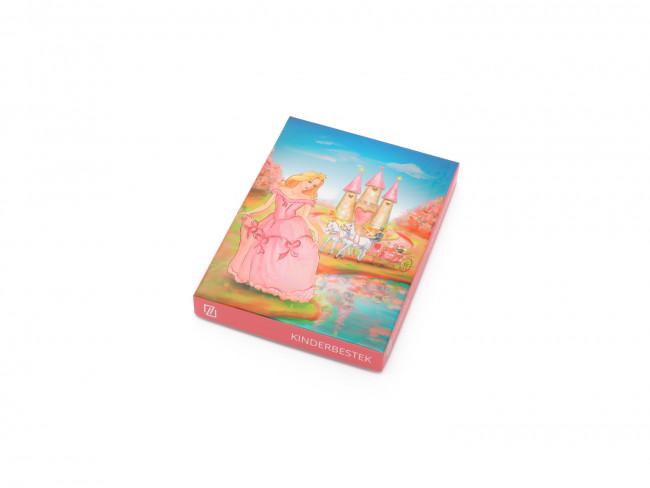 Couvert pour enfant 4-pieces Princesse acier inox