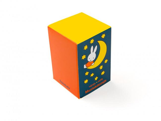 Boîte à musique Miffy arg/laq
