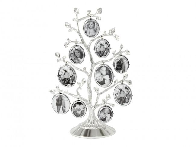 Cadre arbre généalogique (10) arg/laq