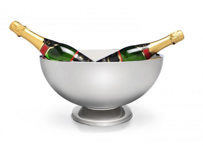 Vasque à champagne au pied double paroi