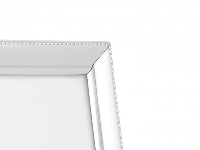 Cadre photo Perle étroit 13x18 cm arg/laq