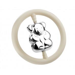 Hochet Ours dans l'anneau arg. B90