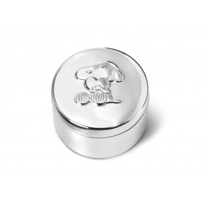 Boîte à dents Snoopy argenté