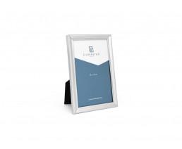 Cadre photo Perle, étroit, 10x15 cm, argenté laque