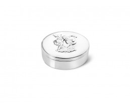 Boîte pour dents Woezel & Pip, argenté laqué