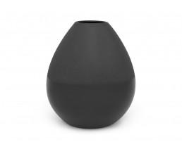 Vase Como large Ø150x170 mm, noir, mat/brillant