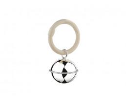 Hochet Ballon, perle sur un anneau (925 argent)