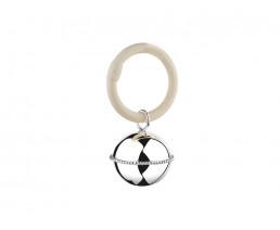 Hochet Ballon, perle sur un anneau (B90)